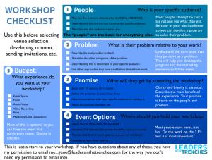 Workshop Checklist-thumbnail